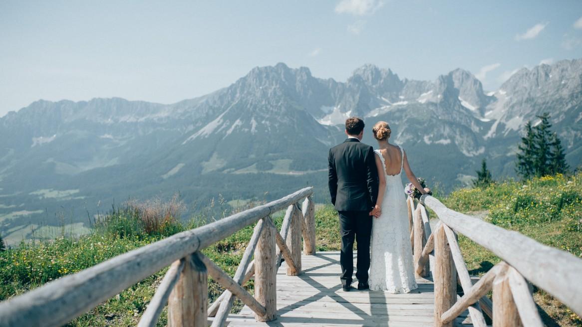 Hochzeit am wilden Kaiser #wedding